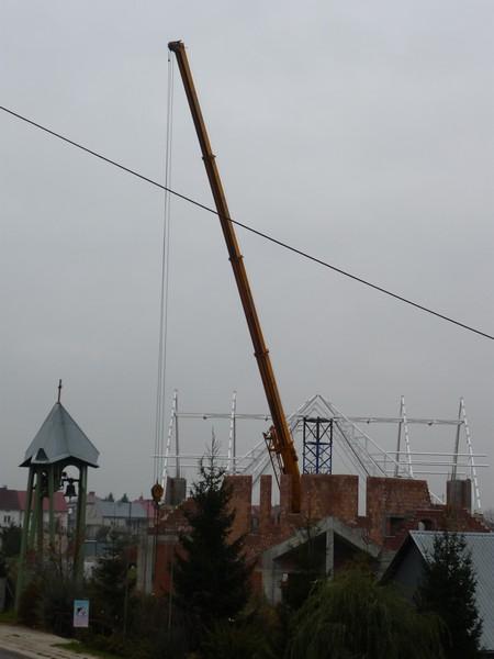 Dach Kościoła dzień 4