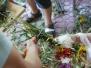 Przygotowania do święcenia ziół i kwiatów